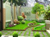 Bật mí những cách thiết kế khu sân vườn chuẩn phong thủy