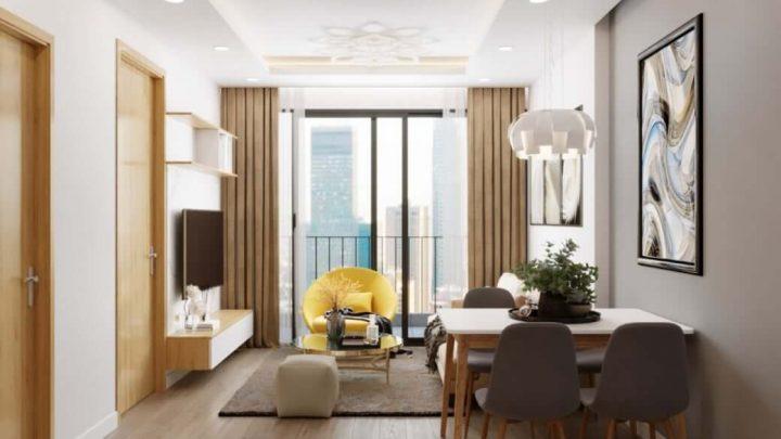 Chiêm ngưỡng mẫu thiết kế nội thất căn hộ chung cư đẹp, sang trọng