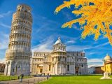 Tháp nghiêng Pisa nổi tiếng
