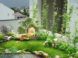 sân vườn mini